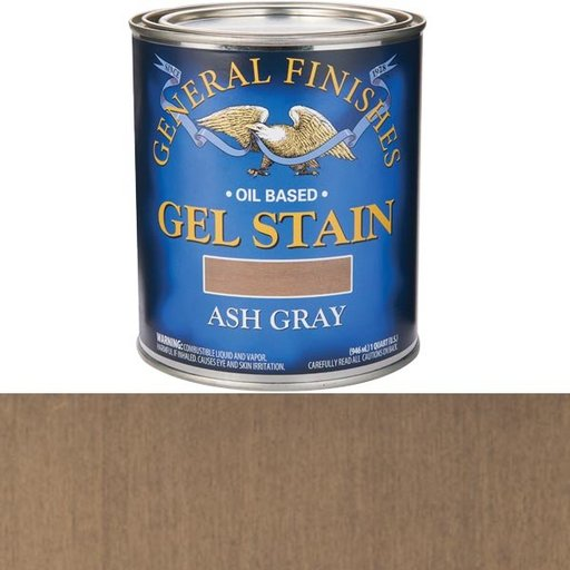 View a Larger Image of Gel Stain Ash Gray Qt
