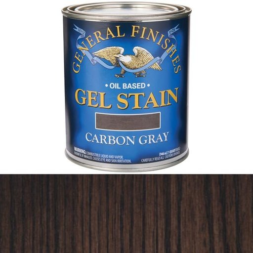 View a Larger Image of Carbon Gray Stain Gel Solvent Based Quart