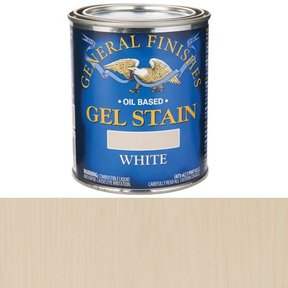 White Stain Gel Solvent Based Pint