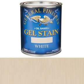 Gel Stain White Qt