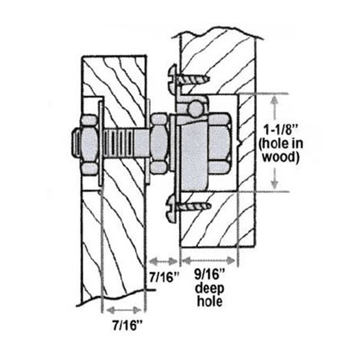 View a Larger Image of Glider Rocker Bearing Kit