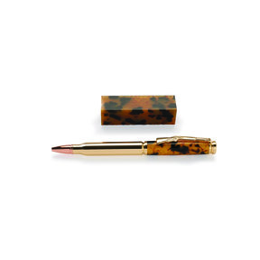 Gold Quartz Acrylic Pen Blank