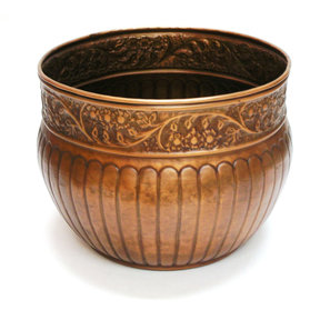 La Jolla Hose Pot, Venetian Bronze Finish