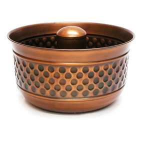 Montego Hose Pot, Copper Finish
