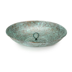 Rain Chain Basin, Blue Verde
