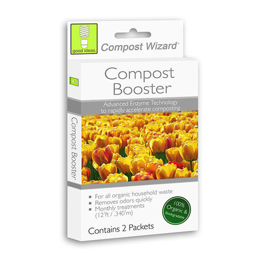 View a Larger Image of Good Ideas Compost Wizard Compost Booster, 6 pack