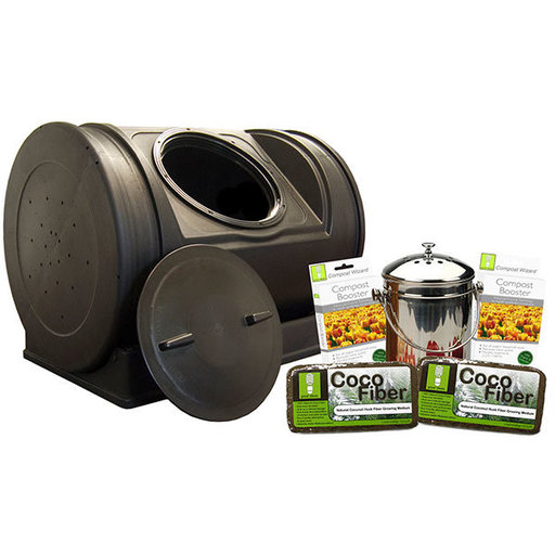 View a Larger Image of Good Ideas Compost Wizard Starter Kit