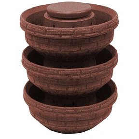 Good Ideas English Composting Garden, 3 pack, Red