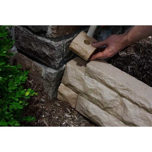 View a Larger Image of Good Ideas Garden Wizard Border Finish Kit, Sandstone