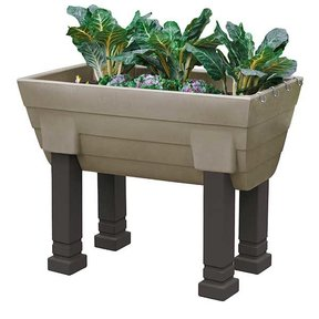 Good Ideas Garden Wizard Elevated Garden, Khaki