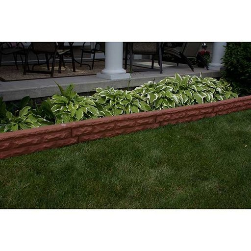 View a Larger Image of Good Ideas Garden Wizard Landscape Border, Red Brick