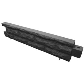 Good Ideas Garden Wizard Stone Border, Dark Granite
