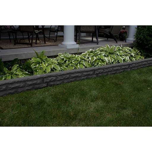 View a Larger Image of Good Ideas Garden Wizard Stone Border, Dark Granite