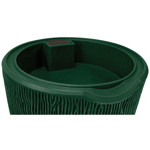 View a Larger Image of Good Ideas Impressions Bark Rain Saver, 90 Gallon, Green