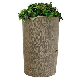 Good Ideas Impressions Bark Rain Saver,  90 Gallon, Sandstone