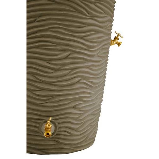 View a Larger Image of Good Ideas Impressions Palm Rain Saver, 65 Gallon, Khaki