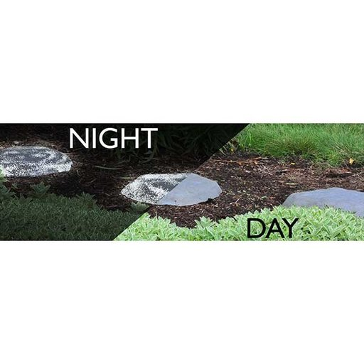 View a Larger Image of Good Ideas Luna Stepping Stone, Dark Granite, 4 pack
