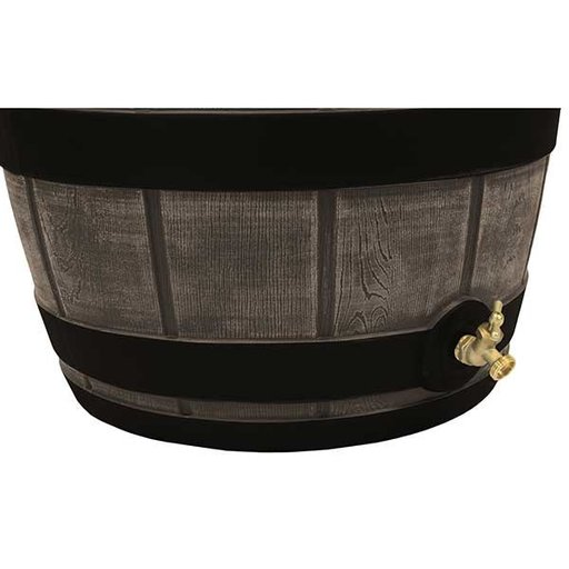 View a Larger Image of Good Ideas Rain Vault with Darkened Ribs, Oak