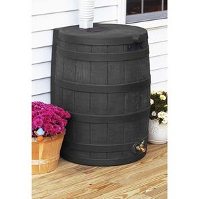 Good Ideas Rain Wizard 40, 40 Gallon, Black