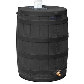 Good Ideas Rain Wizard 50, 50 Gallon, Black