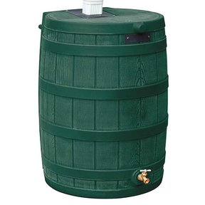 Good Ideas Rain Wizard 50, 50 Gallon, Green