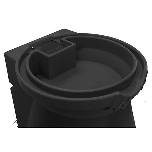 View a Larger Image of Good Ideas Rain Wizard Urn, 65 Gallon, Black