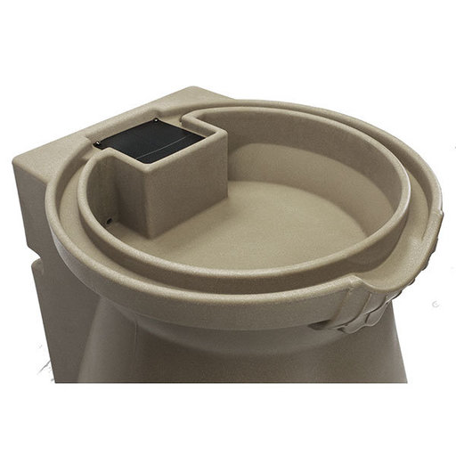 View a Larger Image of Good Ideas Rain Wizard Urn, 65 Gallon, Khaki