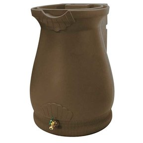 Good Ideas Rain Wizard Urn, 65 Gallon, Oak
