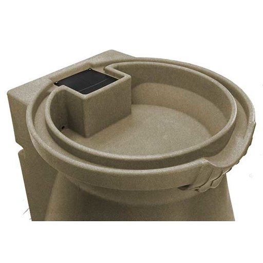 View a Larger Image of Good Ideas Rain Wizard Urn, 65 Gallon, Sandstone