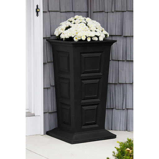 View a Larger Image of Good Ideas Savannah Planter, Black