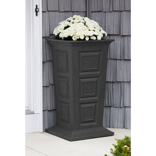View a Larger Image of Good Ideas Savannah Planter, Dark Granite