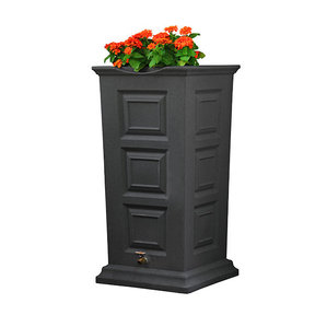 Good Ideas Savannah Rain Saver, 55 Gallon, Dark Granite