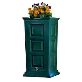 Good Ideas Savannah Rain Saver, 55 Gallon, Green