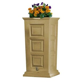 Good Ideas Savannah Rain Saver, 55 Gallon, Khaki