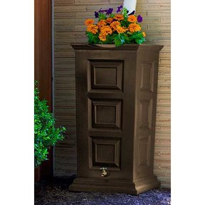 Good Ideas Savannah Rain Saver, 55 Gallon, Oak