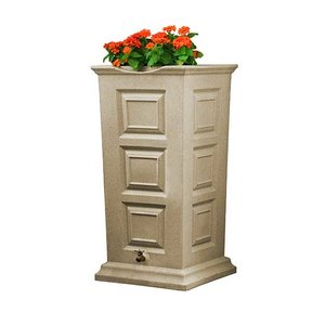 Good Ideas Savannah Rain Saver, 55 Gallon, Sandstone