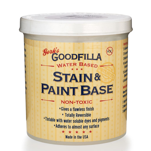 View a Larger Image of Goodfilla Clear Stain/Paint Base Pt