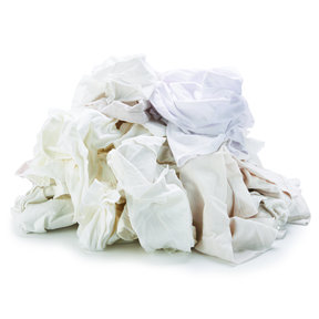 Rags White Wipers 2 lbs