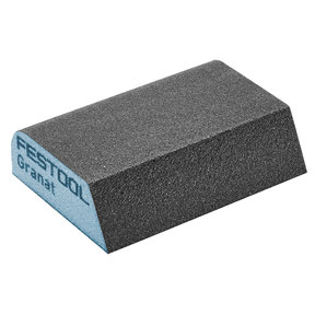 "GRANAT Abrasive Combination Sponge 2.7"" x 3.8"" x 1"" 120G, 6 Pack"