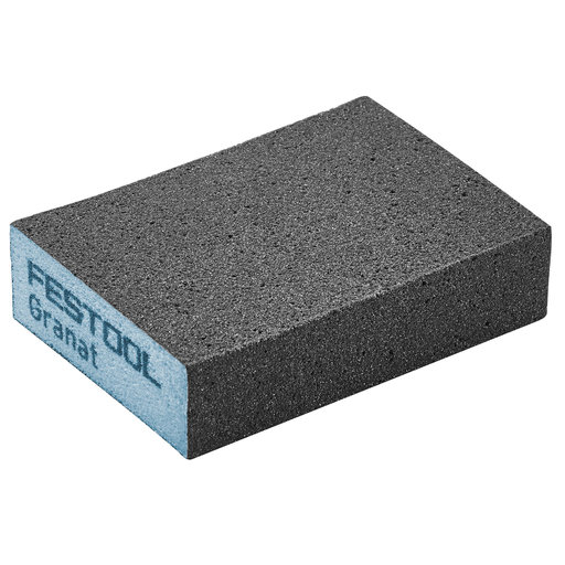 "View a Larger Image of GRANAT Abrasive Sponge 2.7"" x 3.8"" x 1"" 120G, 6 Pack"