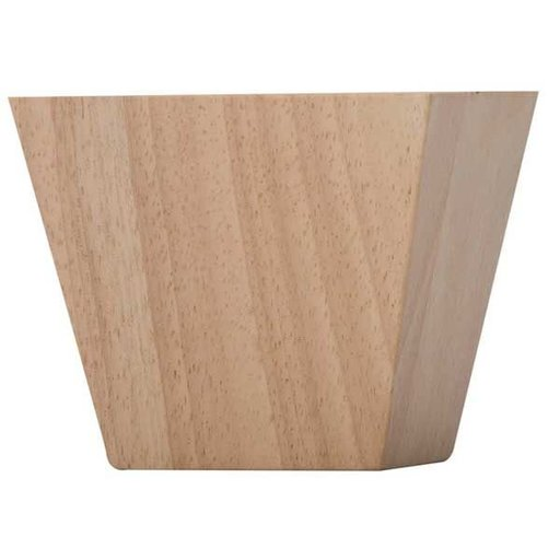 View a Larger Image of Contemporary Bun Foot - Hardwood, Model BF2744-H