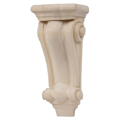 View a Larger Image of Medium Scroll Corbel - Linden, Model CB602