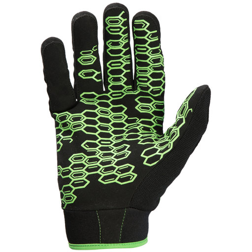 View a Larger Image of Grasper Gloves, Black/Green, XL