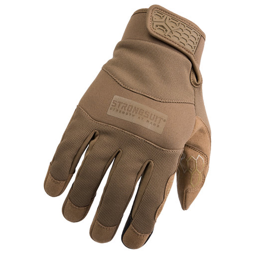 View a Larger Image of Grasper Gloves, Coyote, Medium