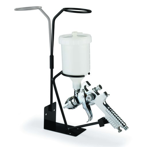 View a Larger Image of Gravity Feed Spray Gun Stand With Detachable Strainer Holder