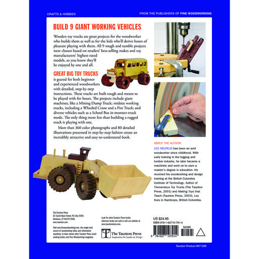 View a Larger Image of Great Big Toy Trucks