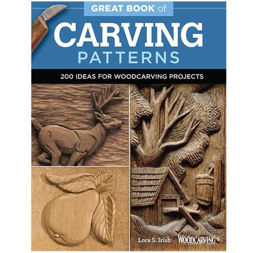 View a Larger Image of Great Book of Carving Patterns