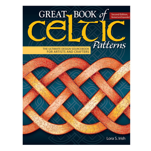 View a Larger Image of Great Book of Celtic Patterns 2nd Edition