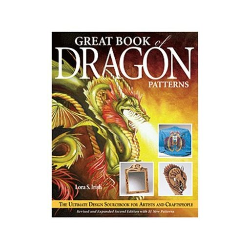 View a Larger Image of Great Book of Dragon Patterns, 2nd Edition