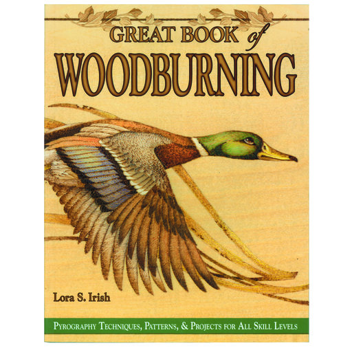 View a Larger Image of Great Book of Woodburning